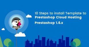 install prestashop 1.6 theme to cloud hosting
