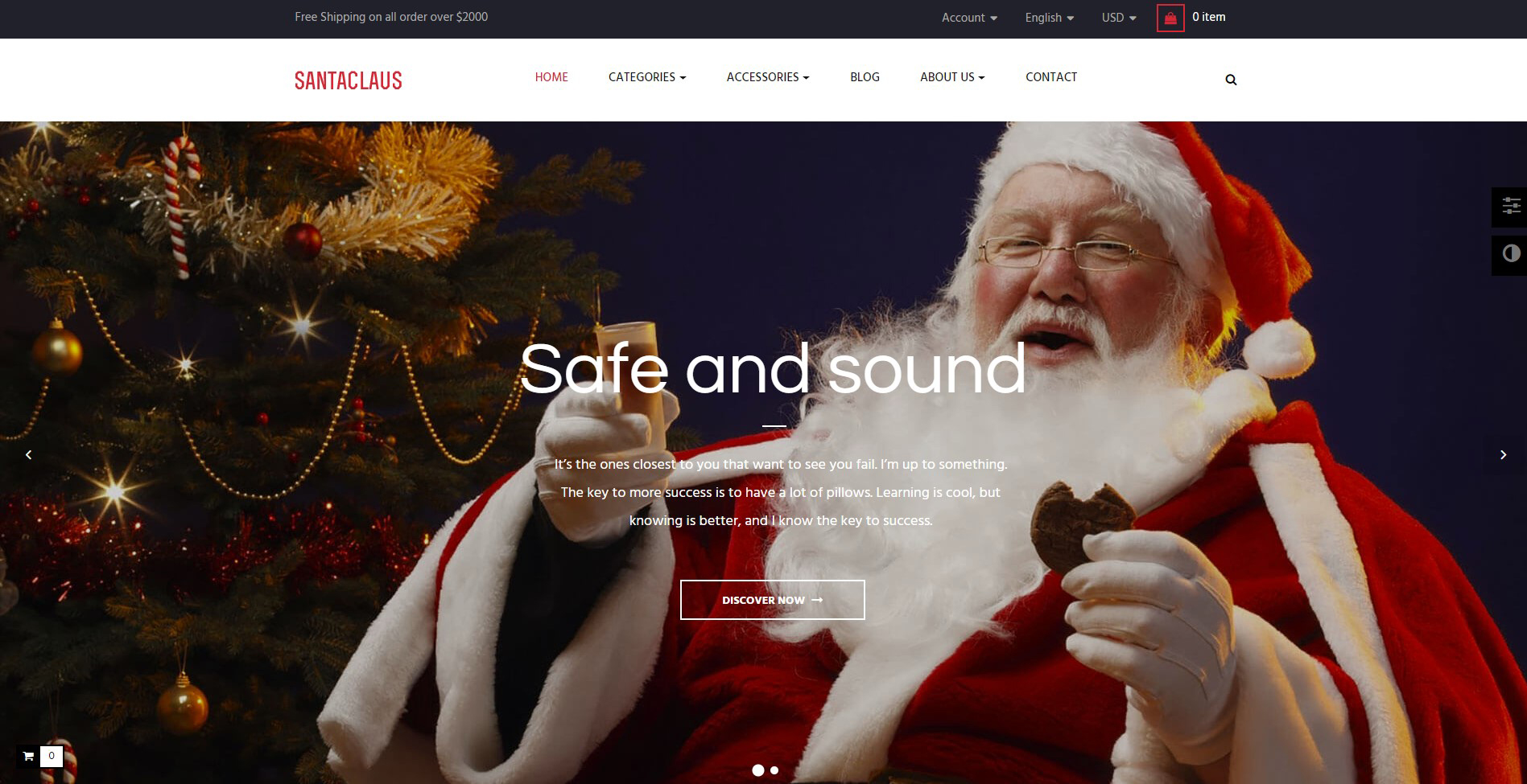 leo santa clause prestashop theme 2018