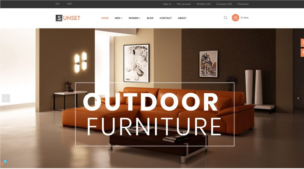 ap sunset best furniture prestashop themes