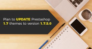 plan to update themes Prestashop 1.7.5.0
