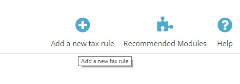 7.add new tax rule prestashop 1.7