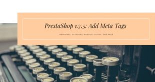 add meta tags prestashop 1.7 leotheme blog