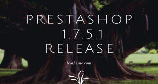 Prestashop 1.7.5.1 release