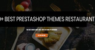 best prestashop themes restaurant leotheme