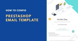 how to config prestashop email template