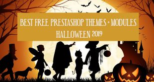 best free prestashop themes modules halloween