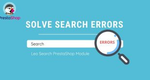 solve prestashop search errors with leo search prestashop module