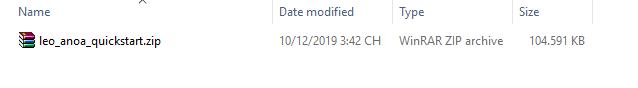 install quickstart version