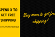 Spend X to get free shipping - Leo feature module tutorial