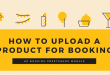 Ap Booking Module Tutorial How to Upload a Product for Booking