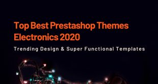 Top Best Prestashop Themes Electronics 2020 Trendy Design for Gadgets or Hitech Store